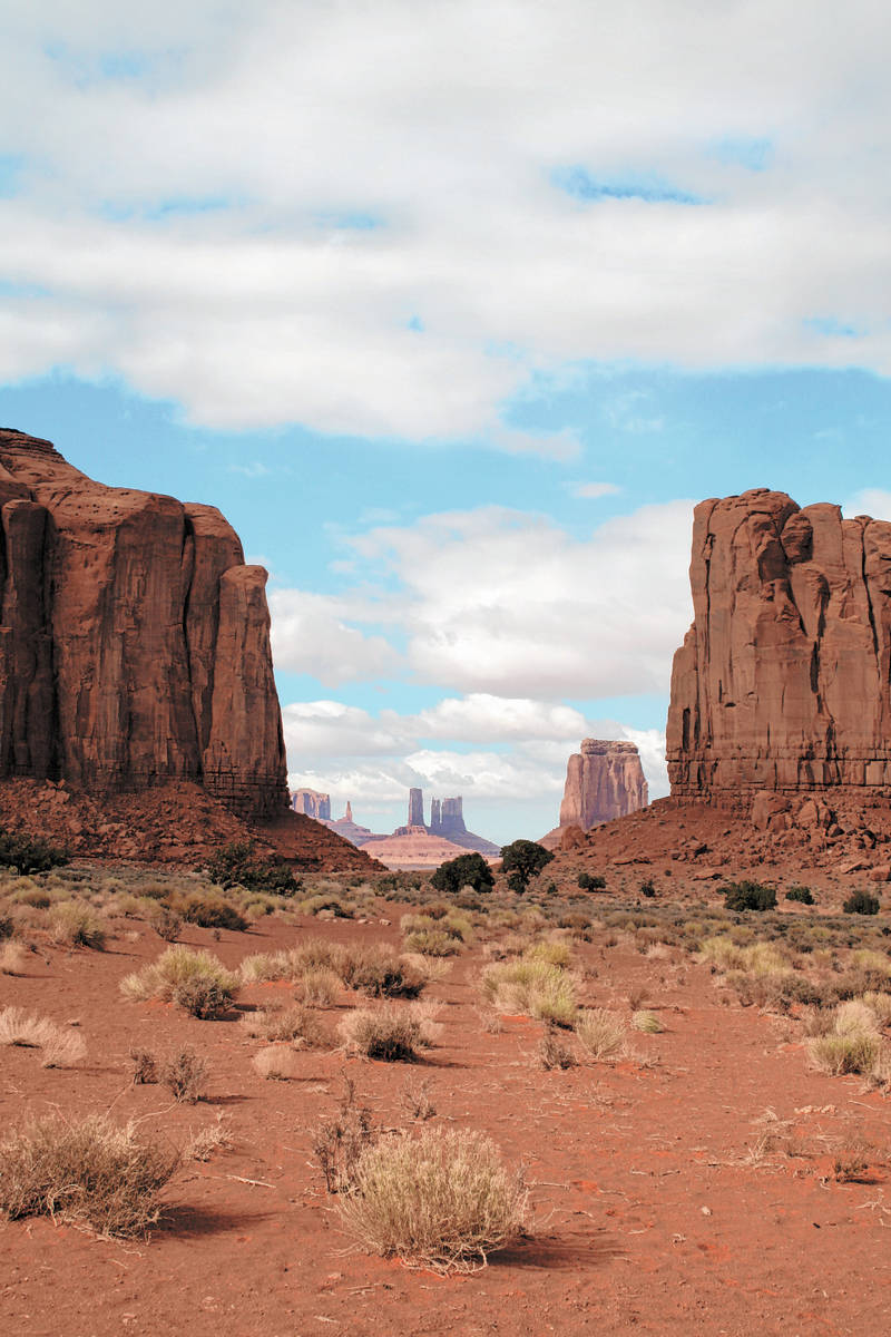 """(Deborah Wall) John Ford filmed many of his classic Westerns in Monument Valley including """"St ..."""