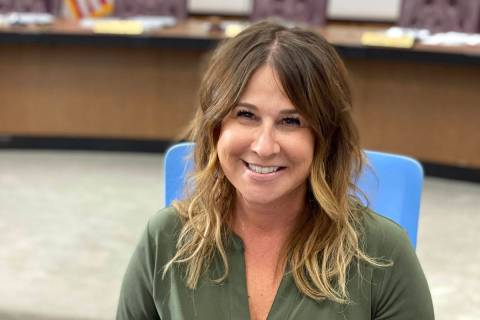 Boulder City Tami McKay is now the full-time city clerk after City Council approved her employm ...