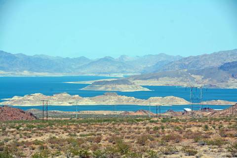 Celia Shortt Goodyear/Boulder City Review The federal government has declared a water shortage ...