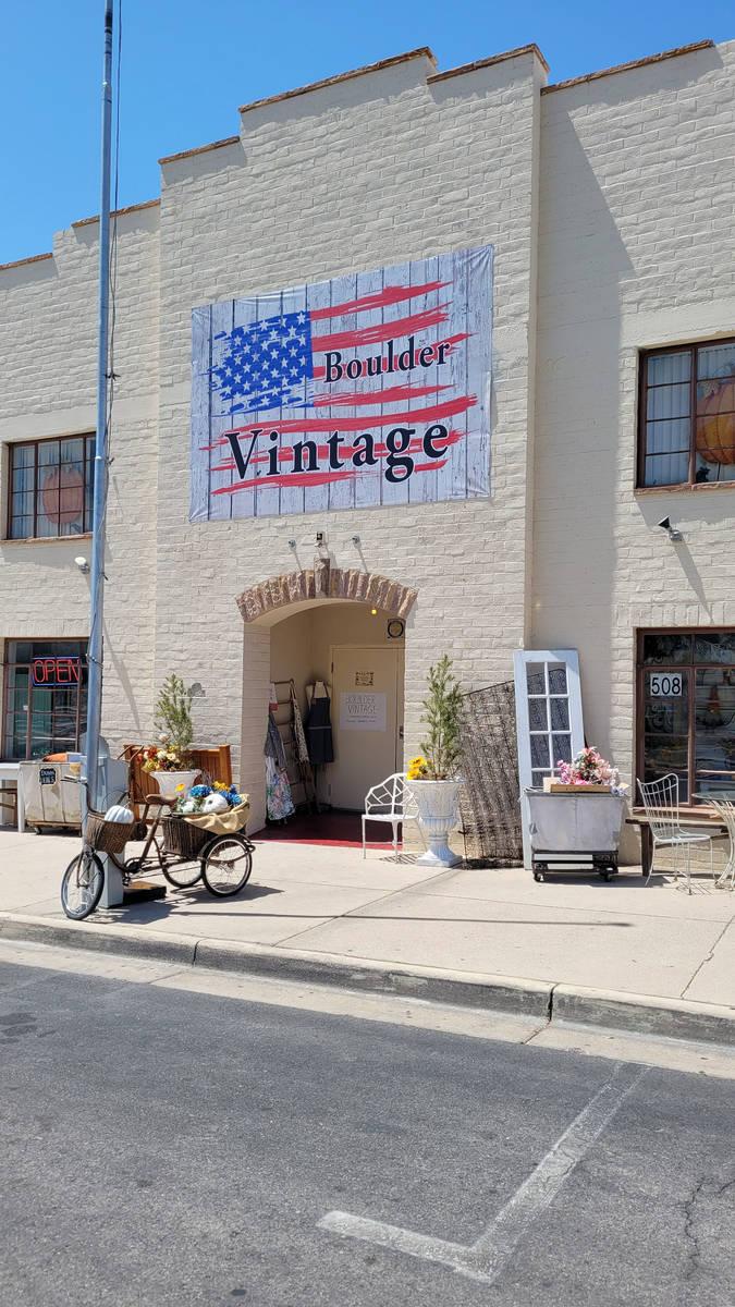 Celia Shortt Goodyear/Boulder City Review Boulder Vintage, 508 California Ave., offers unique a ...