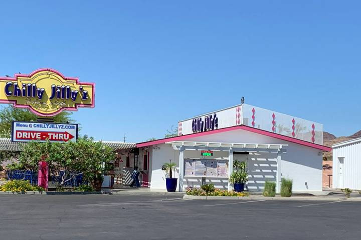(Hali Bernstein Saylor/Boulder City Review) Chilly Jilly'z, 1680 Boulder City Parkway, will m ...