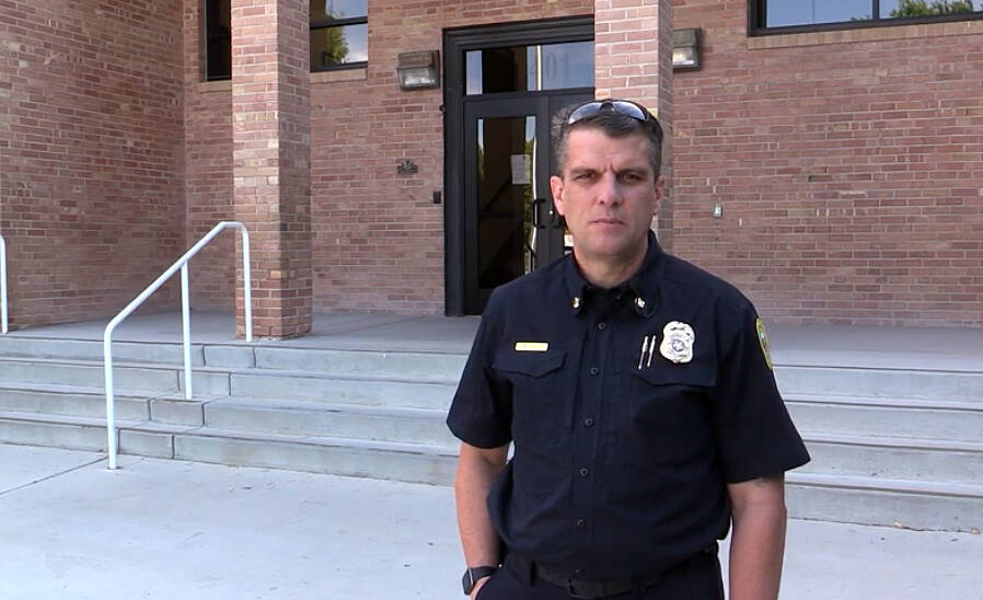 Boulder City Fire Chief Will Gray