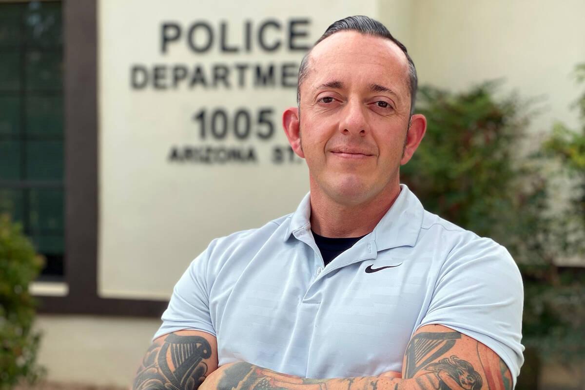 Boulder City Police Detective Brett Wibrew