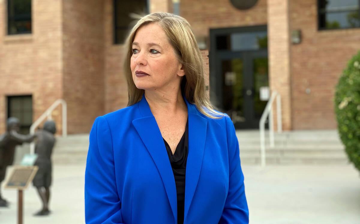 Boulder City Communications Manager Lisa LaPlante