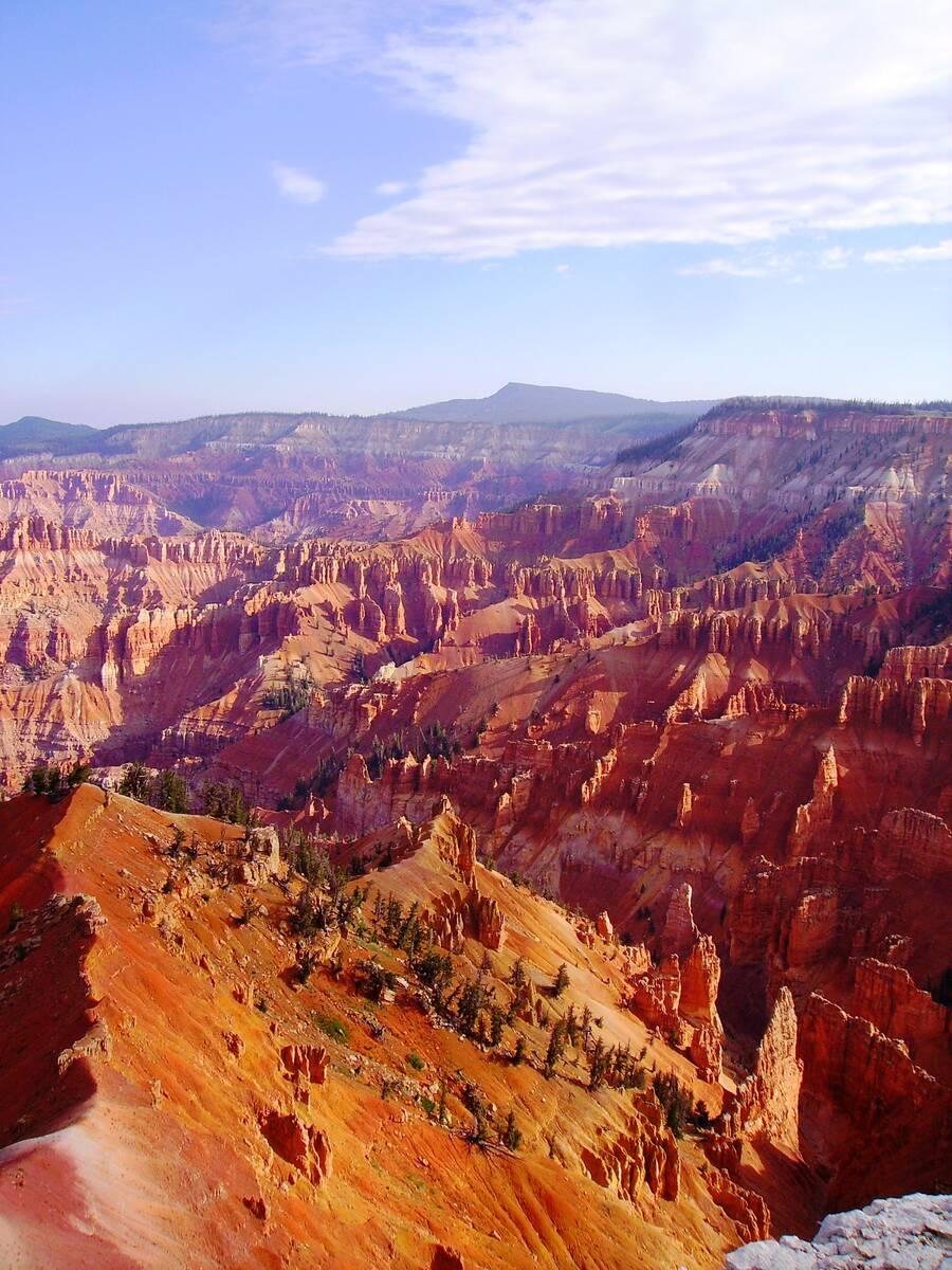 (Deborah Wall) The natural amphitheater at Cedar Breaks National Monument in Utah is filled wit ...