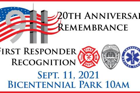 A special 20th anniversary remembrance of Sept. 11, 2001, and recognition of the area's first ...