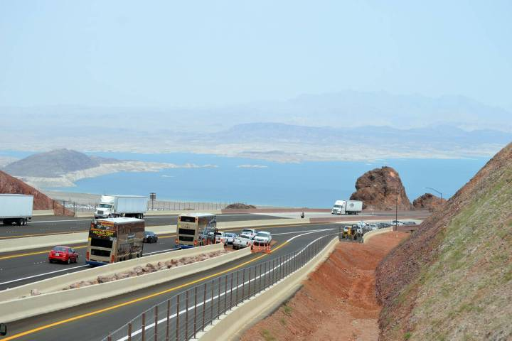 The option to extend Interstate 11 through the Lake Mead area near the Arizona border is now of ...