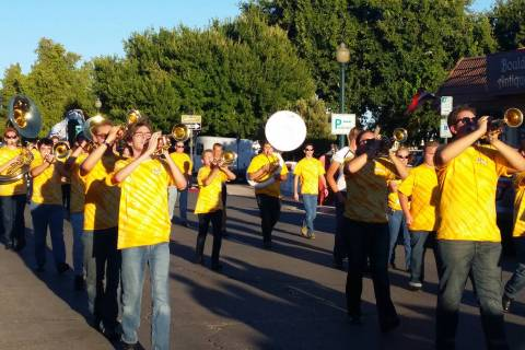 Homecoming festivities for Boulder City High School will include a parade through downtown star ...