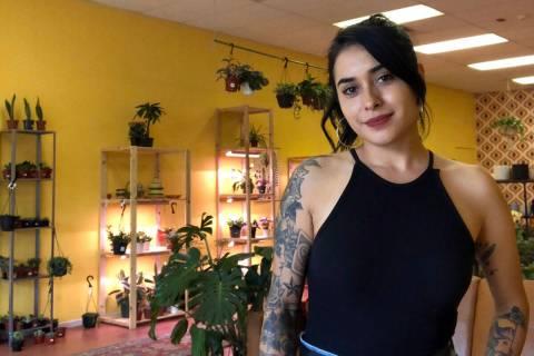 Anita Weisenbarger Anita Weisenbarger recently opened Iron Rose Plant Shop in Boulder City beca ...