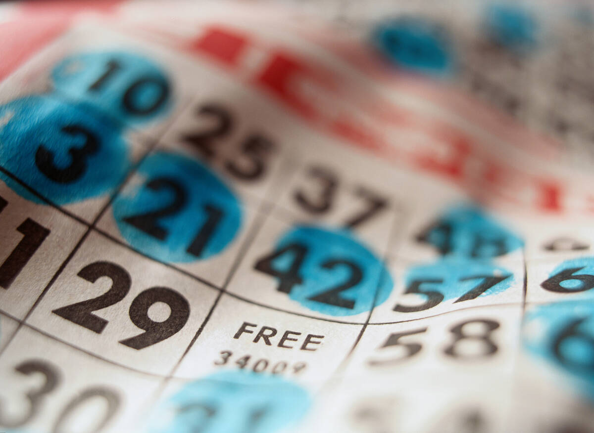 (Getty Images) Boulder City Elks Lodge hosts an afternoon of bingo at 3 p.m. Sunday, Oct. 3, at ...