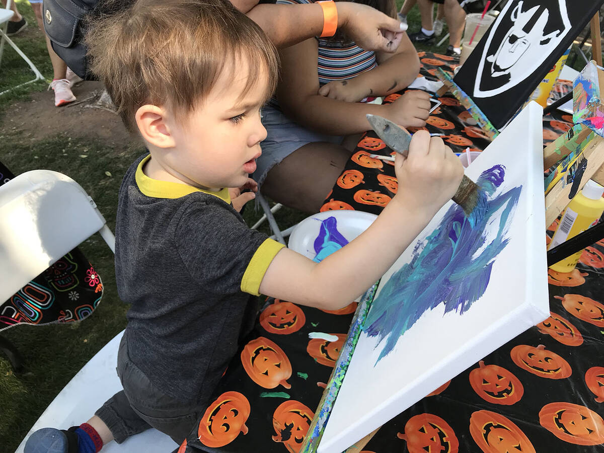 Boulder City Hospital Foundation's Art in the Park will be held Saturday and Sunday in four dow ...