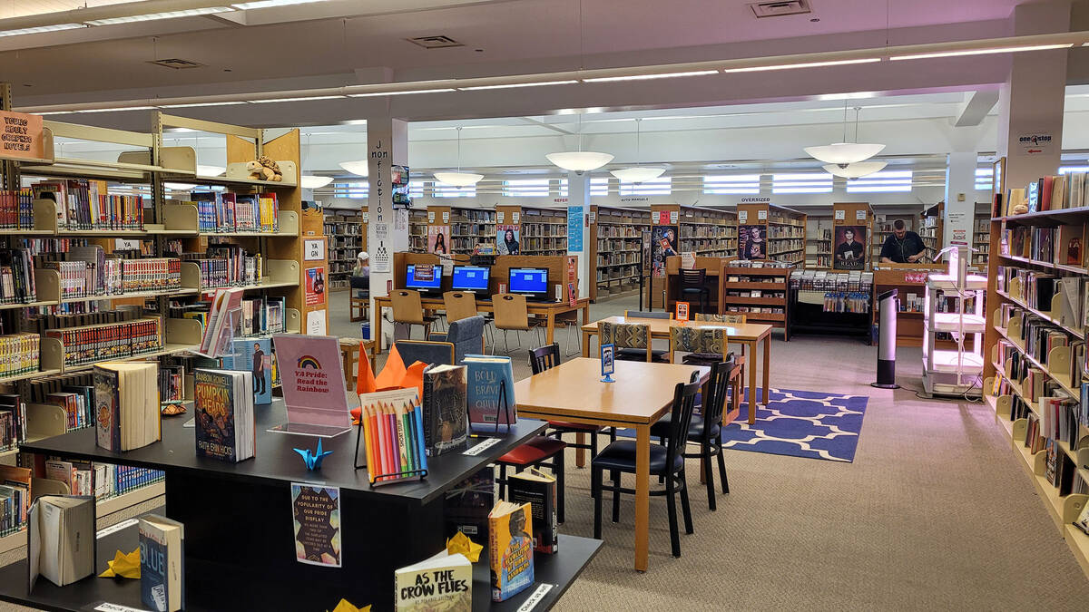 The Boulder City Library, 701 Adams Blvd., offers many different inside activities for children ...