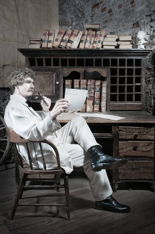 (Asa Gilmore/Courtesy McAvoy Layne) McAvoy Layne will portray American writer, humorist, entrep ...