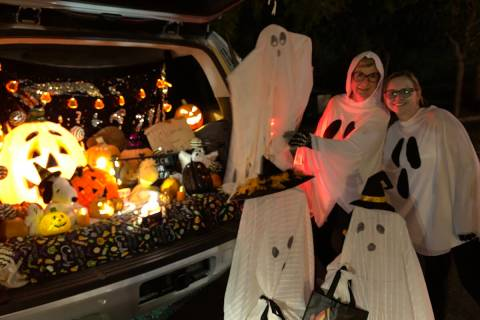 Boulder City Chamber of Commerce will present a drive-thru Trunk or Treat starting at 5 p.m. Sa ...