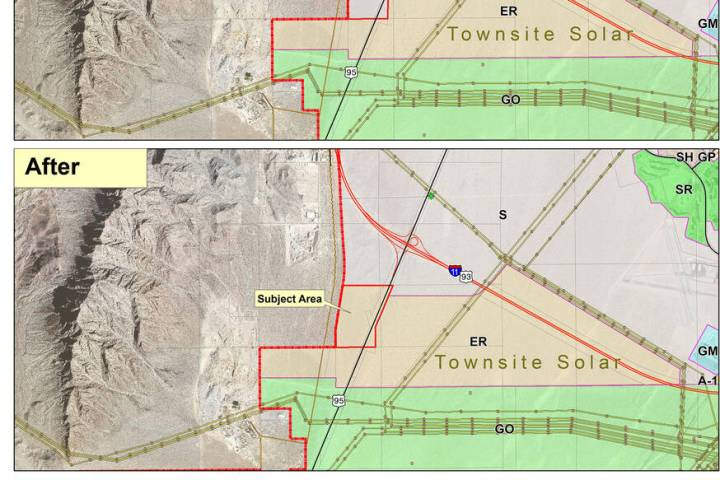 Boulder City At its Oct. 26 meeting, City Council will consider rezoning a 115-acre parcel of ...