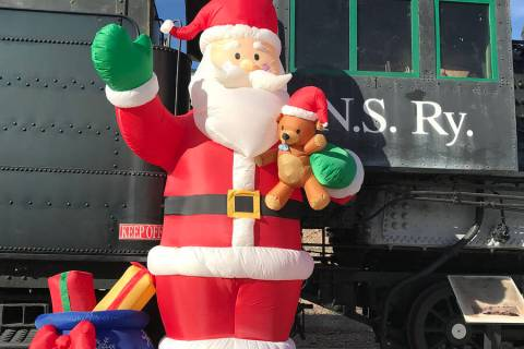 Boulder City Santa Express, a holiday tradition for many locals, returns this year with a new f ...