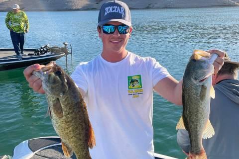 (Gunnar Stanton) Boulder City resident and professional fisherman Gunnar Stanton won third plac ...