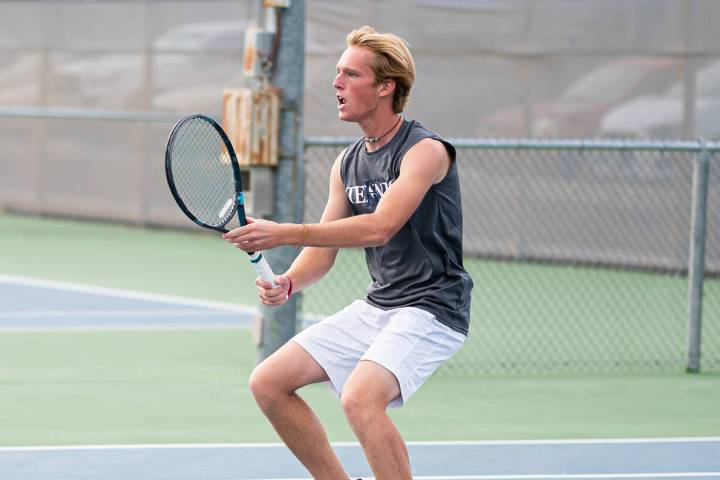 (Jamie Jane/Boulder City Review) Senior Nathan Pickett, seen Oct. 5 at Boulder City High School ...