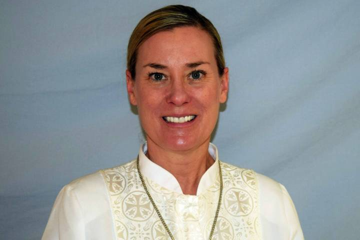 The Rev. Kimber Govett is the new pastor of Boulder City United Methodist Church. She moved to ...