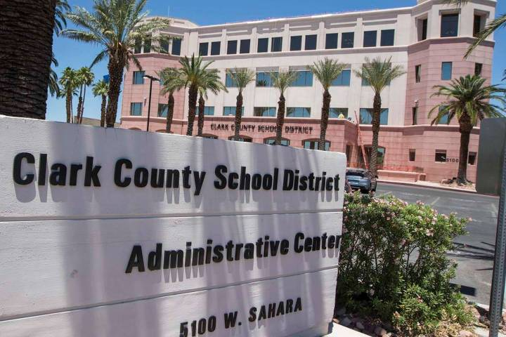 Clark County School District is proposing three schools in Boulder City be combined into one ki ...